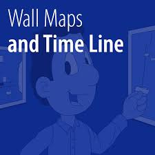 Wall Maps And Time Line And Labels