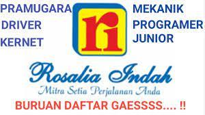 Pt rosalia indah transport merupakan salah satu perusahaan yang bergerak di bidang transportasi darat yang ada di indonesia. Lowongan Kerja Pt Rosalia Indah Maret 2020 Blog Okuta