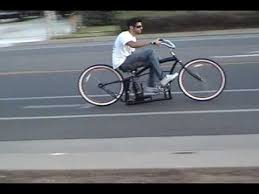 custom beach cruiser bicycle with air ride suspension youtube