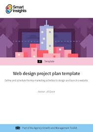 Design Schedule Template Web Design Project Plan Template Smart Insights