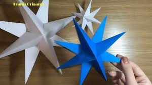 How to Make a Paper decoration 3D Star for Christmas (DIY Tutorial) -  YouTube