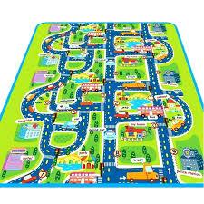 play rugs cool car mat rug city road carpets for children carpet baby ikea uk