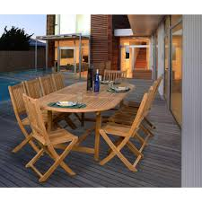 teak outdoor dining chairs. Amazonia Bergen 11-Piece Teak Patio Dining Set Outdoor Chairs