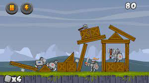 Catapult. A physics game like Angry Birds for Android