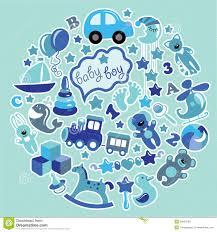 baby boy colors. Modren Colors Toys Icons For Baby Boy In CircleBlue Colors With Baby Boy Colors B