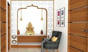 latest wooden temple design for home small wall mounted improvement