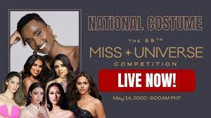LIVE MISS UNIVERSE 2020/2021 NATIONAL ...