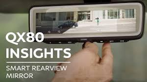 2019 INFINITI QX80 INSIGHTS: Smart Rearview Mirror - YouTube