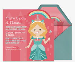Princess Invite Invitations Free Ecards And Party Planning Ideas From Evite