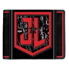 DC Comics - Justice League - Justice League Logo Black Wallet - EB ...