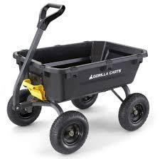 gorilla carts gcg 7 7 cu ft heavy