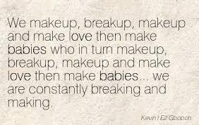 break up and make up es