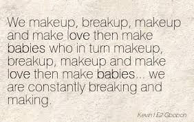 break up and make up es