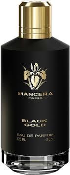 <b>Mancera Black Gold</b> EdP 120ml in duty-free at airport Dammam