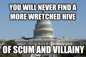 you will never find a more wretched hive of scum and villainy ... via Relatably.com