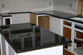 Emerald Pearl Granite Kitchen Black Pearl Countertops With White Cabinets