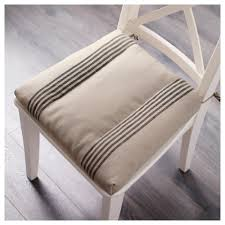 chair pads with ties. ikea ullamaj chair cushion ties keep the pad in place. you can machine wash pads with f