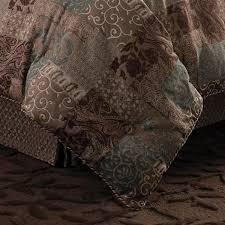 croscill galleria comforter set brown 13
