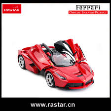 rastar licensed rc car ferrari laferrari with usb opened door car by remote controller 1 14 scale kids toy 50160 in rc cars from toys hobbies on