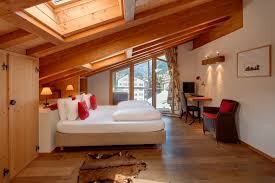 Lodge Bedroom Zermatt Lodge Ski Catered Chalet Zermatt Ski Vacation Swiss