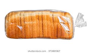 loaf of bread.  Bread Sliced Bread In Plastic Bag With Loaf Of Bread O