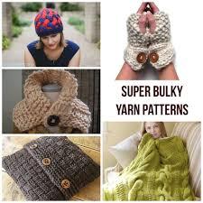 Super Chunky Yarn Patterns Cool Inspiration Ideas