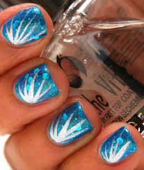 Nail Designs With Stripers Karinea0a Firework Nails Opi Catch Me In Your Net