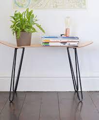mid century metal furniture legs raw