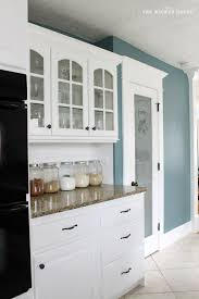 Blue Kitchen Designs Interesting Yesterday I Shared The Story Behind Choosing A New Color For Our
