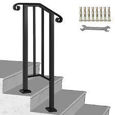 Die befestigungsplatte ist aus edelstahl man könnte sie anschweißen, oder auch. Treppen Gelander Treppengelander Gelander Schmiedeeisen Handlauf 2 3 Treppen Stabil Design Elementorh Com Br