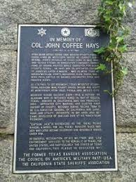 John was born in little cedar lick, tennessee on january 28, 1817, to harmon and elizabeth (cage) hays. John Coffee Hays Oakland Localwiki