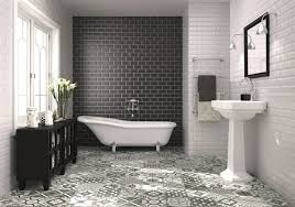 bathroom tiles black and white. Interesting Black Gorgeous Black And White Bathroom Tile Ideas For Your Own Home For The  Awesome Gorgeous Black In Tiles