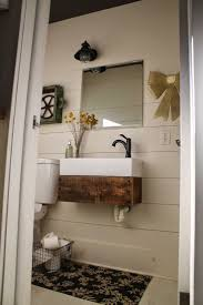 Diy Floating Bathroom Vanity 25 Best Reclaimed Wood Vanity Ideas On Pinterest Subway Tile