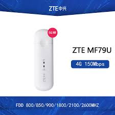Original <b>ZTE MF79</b> MF79U 150Mbps 4g mobile broadband network ...