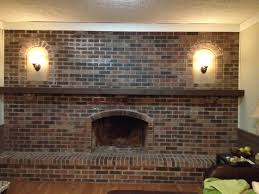 full wall brick fireplace makeover ideas full wall fireplace makeover image and kitchen