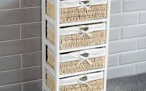 white wheels wide ideas bathroom shelves units john style baskets plastic grey storage unit drawers shaker