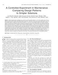 Dot Net Design Patterns Pdf Pdf A Controlled Experiment In Maintenance Comparing Design
