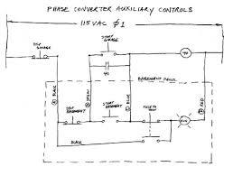 stop start wiring diagram Three Phase Converter Wiring Diagram building a three phase converter 3 phase rotary converter wiring diagram