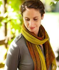 Churchmouse Patterns Extraordinary Bias 'Before After' Scarf Pattern Churchmouse Yarns Teas