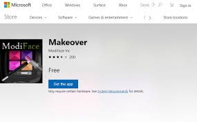 it is an application that is available for free it can be ed for windows 10 pc from microsoft and it offers a lot of presets for makeup