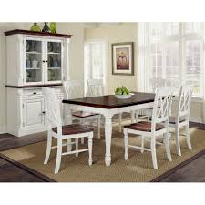 x back dining chairs. Monarch Rectangular Dining Table And Six Double X-back Chairs | Homestyles X Back