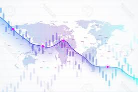 Photostock Vector Stock Market And Exchange Candle Stick