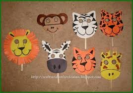 How To Make Face Mask From Chart Paper Handmade Animal Masks Make Your Own Animal Masks For