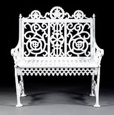 white cast iron patio furniture. to be sold at our september 2013 antique auction lot 1524 victorian cast iron garden white patio furniture n