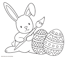 Coloring Book Easter Bunny Color Image Gallery Website Of Face