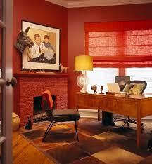 red home office. 21355.alan.design.studio.portfolio.interiors.home.office. Red Home Office