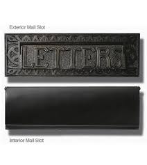 modern mailbox etsy. Delighful Mailbox Stainless Steel Modern Contemporary Door Mail Slot 13 In X 4 Front  And Rear Plates Included  EHMS13SS European Home  For Modern Mailbox Etsy