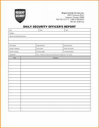 Sample Incident Report Format Employee Letter Accident Form