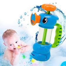 1pc New Funny Baby Water Toys Hippocampus Style Bath Pool Sprayin \u2013 MyTwenty16.com