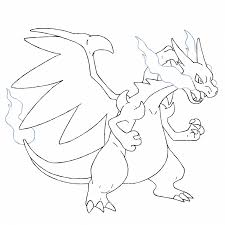 Small Picture Mega Charizard Y Coloring Pages Archives Best Coloring Page Color